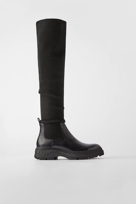 Bota Zara Calcetin 01
