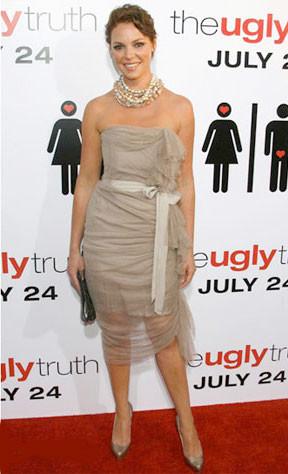 Katherine Heigl en la premiere de The Ugly Truth