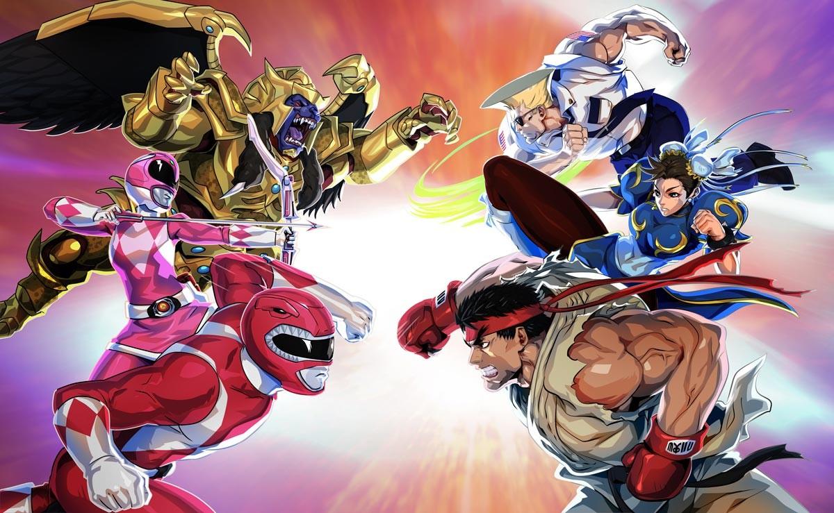 Foto de Power Rangers X Street Fighter (1/11)