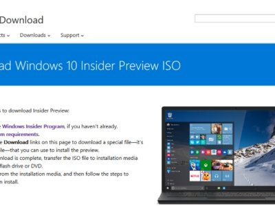 Ya se puede descargar la ISO de Windows 10 build 10565, la última compilación del programa Insider