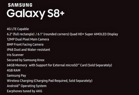 Galaxy S8 Plus Leak