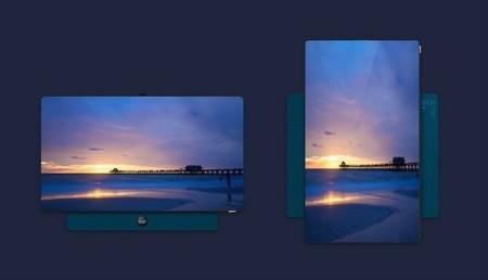 TCL se apunta a la moda de las teles verticales con XESS, un modelo de 55 pulgadas pensado para el screen-mirroring desde el móvil