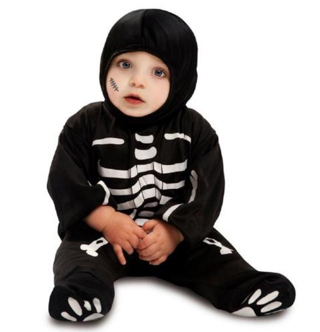 Disfraz Bebé - Esqueleto 0 a 6 meses