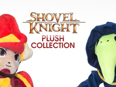 Shield Knight y Plague Knight llegan en forma de peluche