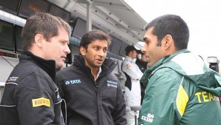 Narain Karthikeyan asegura que correrá el Gran Premio de la India, Karun Chandhok no es tan optimista
