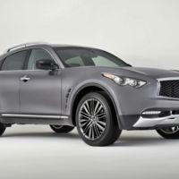 Infiniti QX70 Limited, un adelanto de los cambios en la familia de SUV japoneses