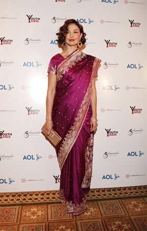 El sari de Ashley Judd