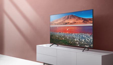 """Enorme en diagonal y en la rebaja: ahorra más de 300 euros en esta smart TV 4K Samsung 75TU7125 de 2020 de 75"""" en Media Markt"""