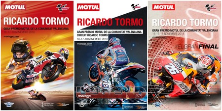 Ayuda a elegir el cartel del Gran Premio de Valencia de MotoGP ¡y gana dos entradas de Palco VIP!