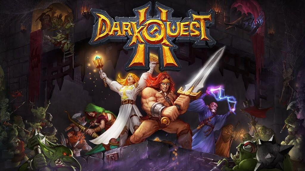 Dark Quest 2, el RPG por turnos inspirado en Hero Quest que emula a las partidas de tablero