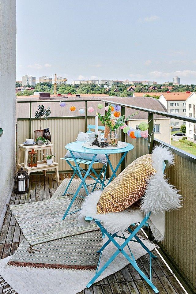 Ideas para el balcón
