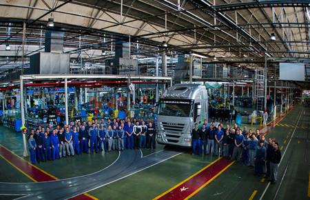 Fabricación de vehículos en España