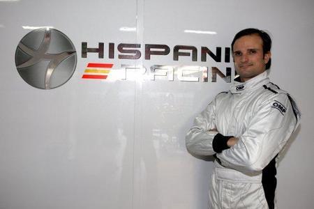 Vitantonio Liuzzi cerca de ser el segundo piloto de Hispania Racing Team