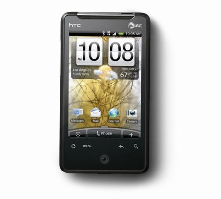 HTC Aria, un HTC HD Mini con Android 2.1