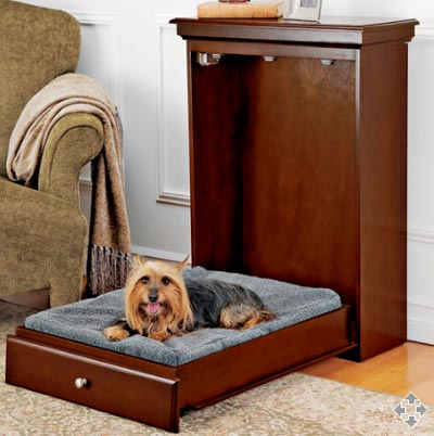 Murphy bed cama plegable para mascotas for Apartment therapy murphy bed