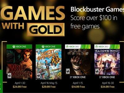 Sunset Overdrive y Saints Row IV entre los Games With Gold del mes de abril