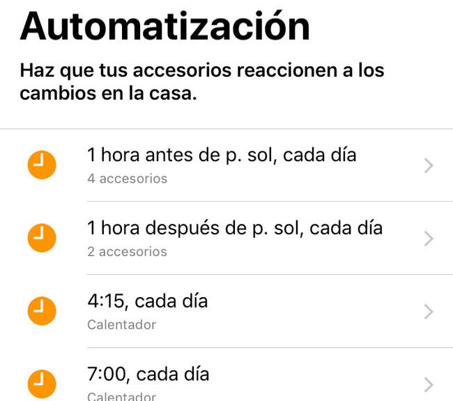 Automatizacion Homekit