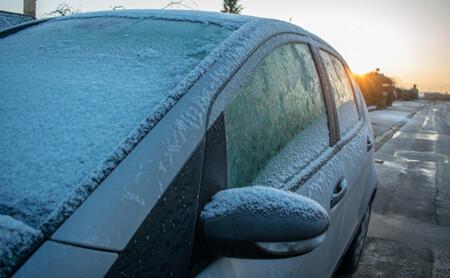 Ice Windshield Car