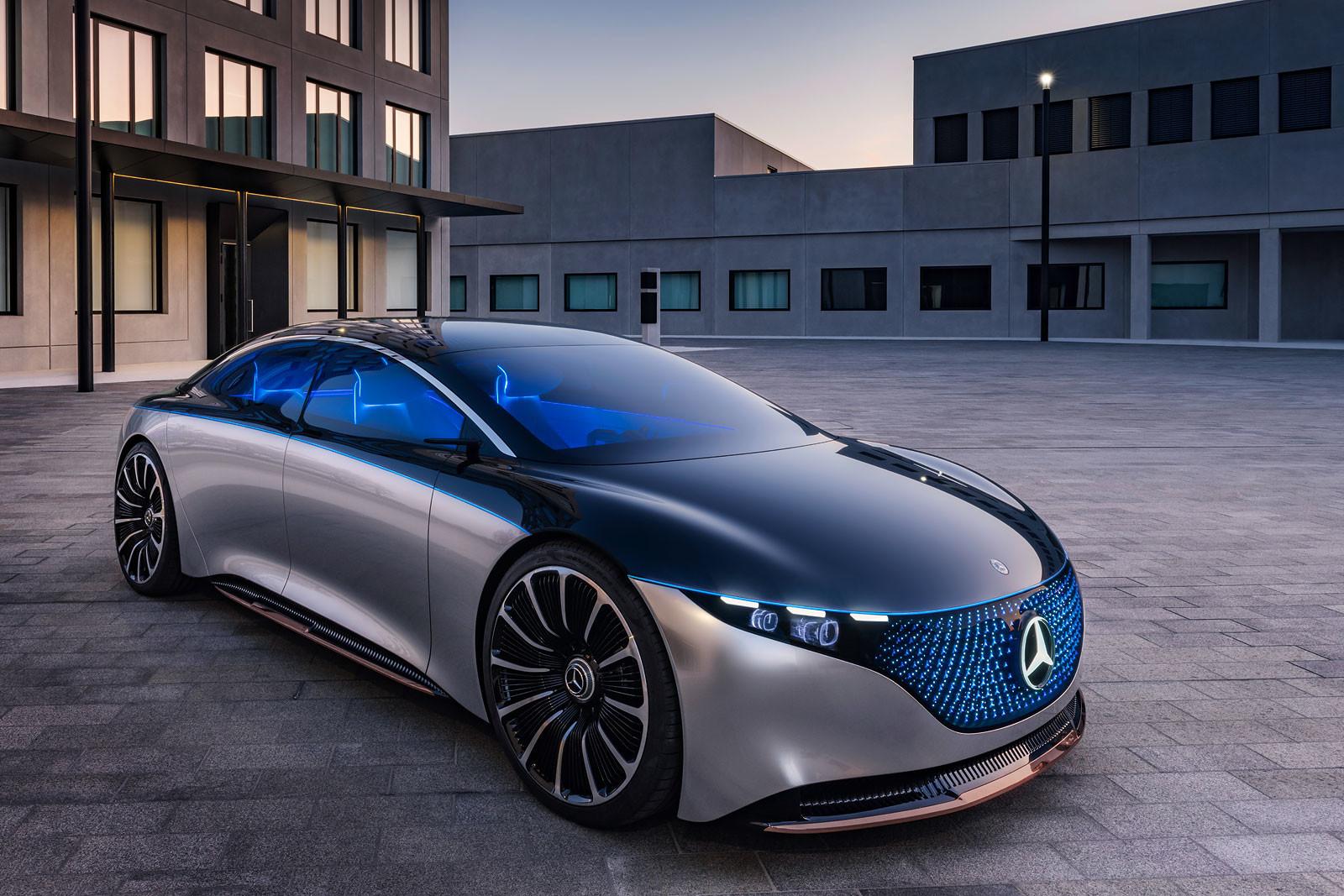 Foto de Mercedes Vision EQS (11/13)