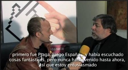 Mobuzz.tv entrevista a Steve Wozniak en Madrid