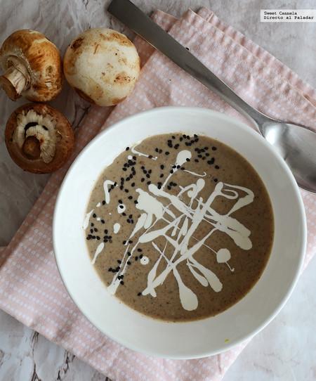Cómo preparar una reconfortante crema de hongos. Receta