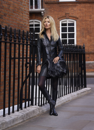 Kate Moss sigue con Longchamp: making of de la nueva campaña Otoño-Invierno 2011/2012