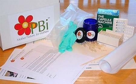 Kit para convertir la placenta de tu bebé en cápsulas