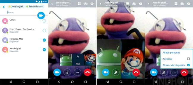 Skype videoconferencias en grupo