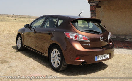 Mazda3 1.6 CRTD 115 cv edición 2011 posterior