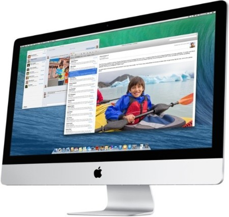 apple imac mac os x mavericks
