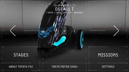 App para iOS Toyota FV2