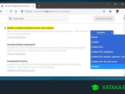 Cómo desactivar el inicio de sesión automático de Chrome