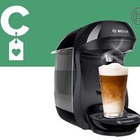 La cafetera de cápsulas más vendida de Amazon es de Bosch, tiene más de 13.000 valoraciones positivas y ahora está rebajada