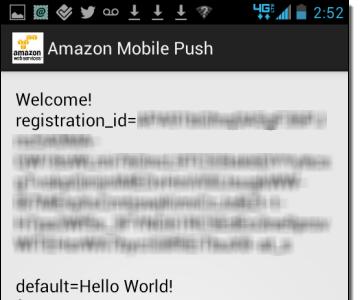 Amazon Simple Notification Service (SNS): notificaciones push móviles para Android e iOS
