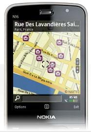 Nokia Maps Explorar