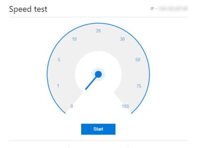 Bing se une a la moda de las utilidades en los resultados, ofrece test de velocidad