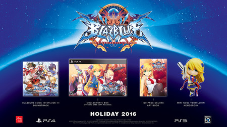 Blazblue Central Fiction Edition Especial