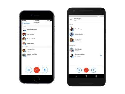 Facebook Messenger para Android: descubre sus nuevas llamadas de grupo