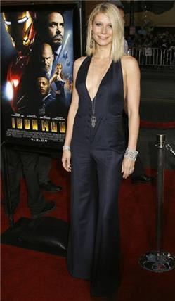 Gwyneth Paltrow en la premiere de Iron Man en Los Ángeles