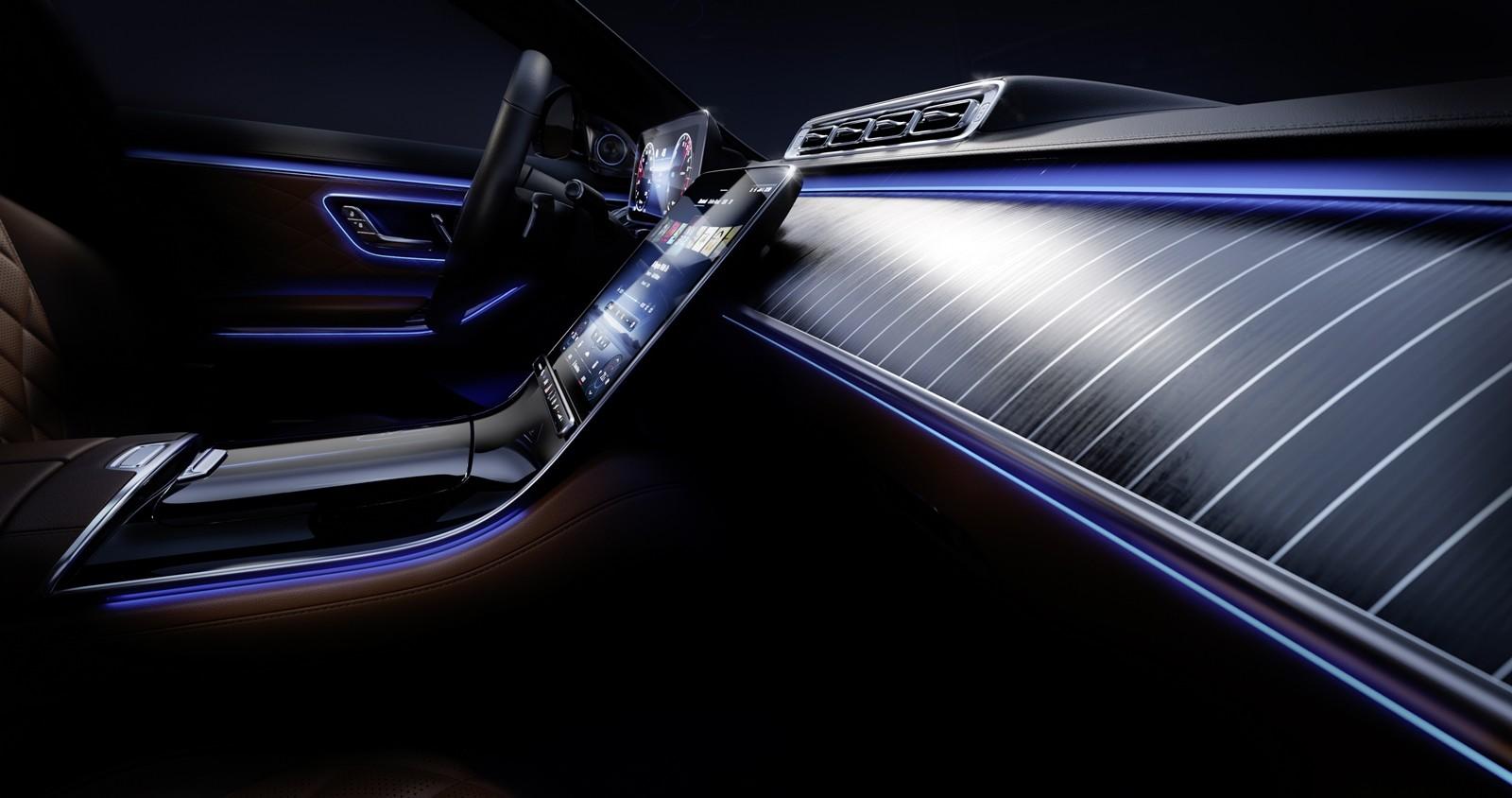 Foto de Mercedes-Benz Clase S 2021 teaser interior (8/12)