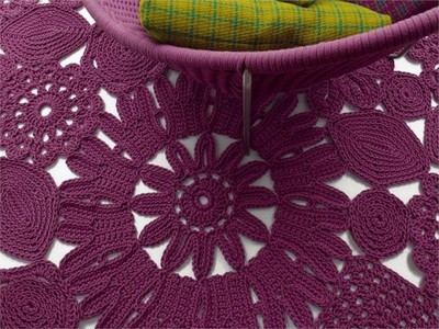 Patricia Urquiola y Eliana Gerotto nos llenan la casa de crochet con la colección High Tech Crochet de Paola Lenti.