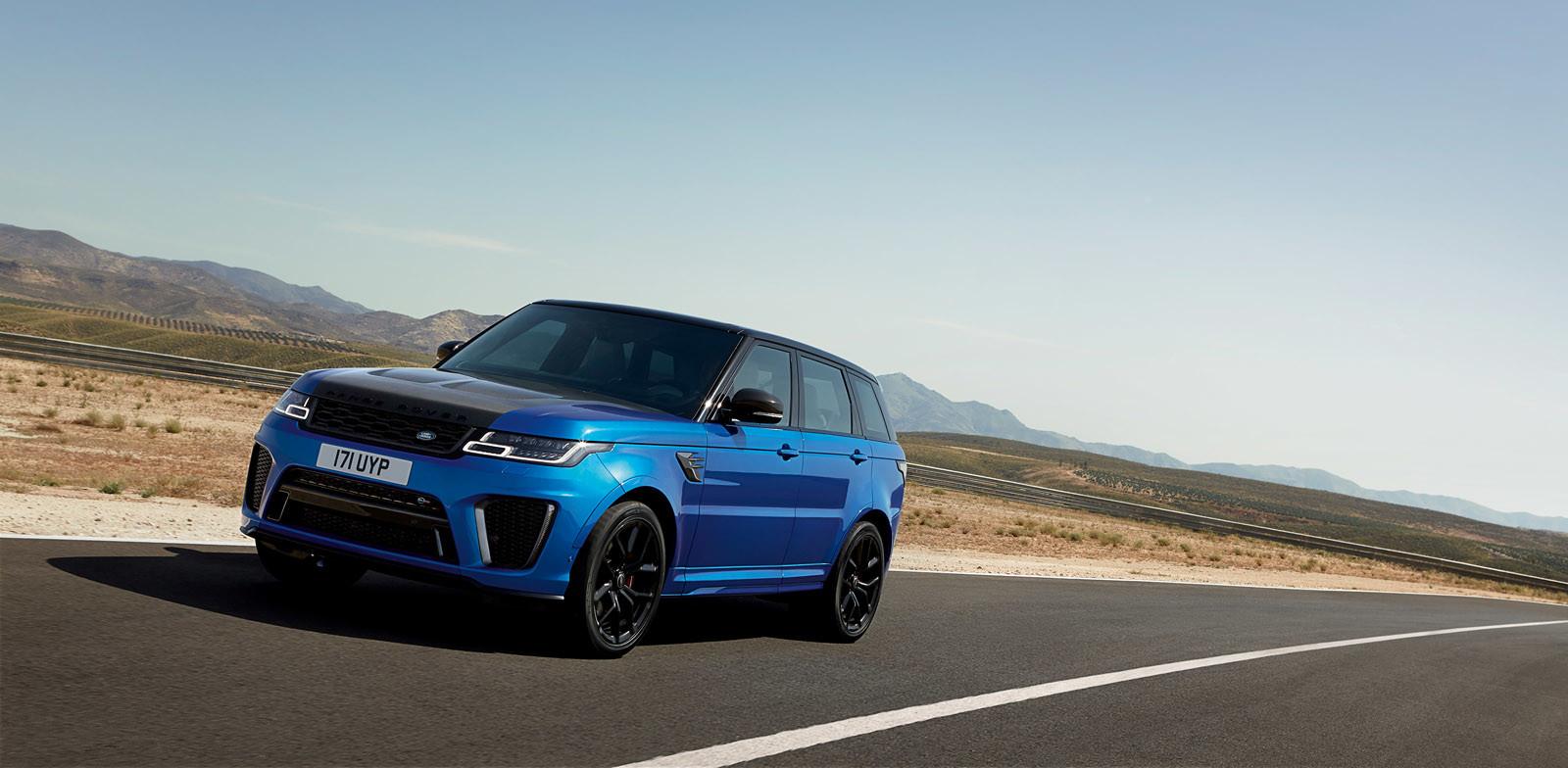 Foto de Range Rover Sport SVR 2018 (12/21)