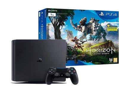 Por 309 euros en PCComponentes, no te aburrirás este verano con la PS4 Slim de 1 Tb con Horizon Zero Dawn