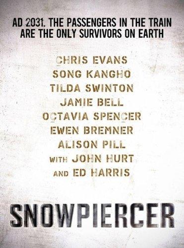 El primer cartel de Snowpiercer