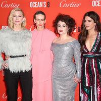 Premiere de 'Ocean's 8' en Londres: golpe de estilo en la alfombra roja