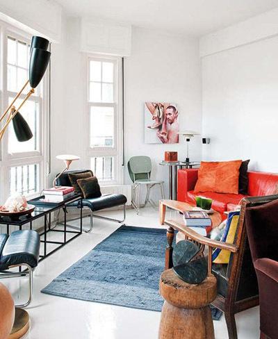 Apartamento bilbaíno con toques vintage