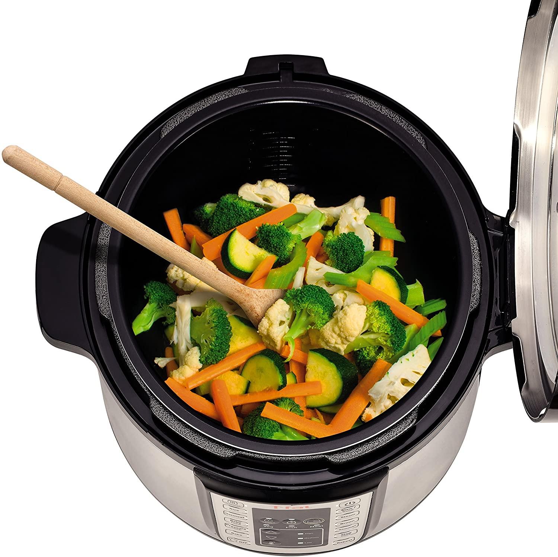 Olla a presión eléctrica Tefal Fast & Delicious Multicooker CY505E