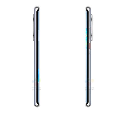 Huawei Mate 40 Pro Renders Pantalla Waterfall Filtracion