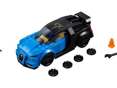 ¡Todavía puedes pedírselo a los Reyes Magos! Bugatti Chiron... de Lego
