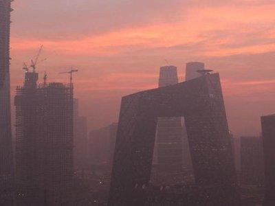 La torre que atrapa contaminación del aire en Pekín